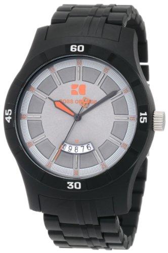 Hugo Boss Men's 1512524 HO2101 BOSS Orange Black Resin Bracelet Watch