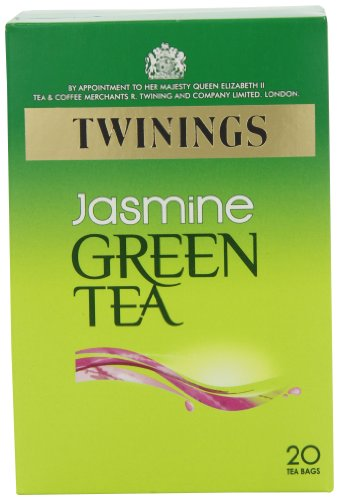 Twinings Green Tea Jasmine 20 Teabags (Pack of 8, 160 Teabags)