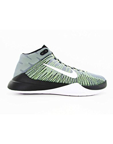 Nike Zoom Ascension, Scarpe da Basketball Uomo, Multicolore (Cool Grey/White/Volt/Black), 44 EU