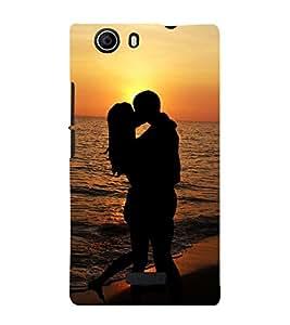Lovely Romance 3D Hard Polycarbonate Designer Back Case Cover for Micromax Canvas Nitro 2 E311 :: Micromax Canvas Nitro 2 (2nd Gen)