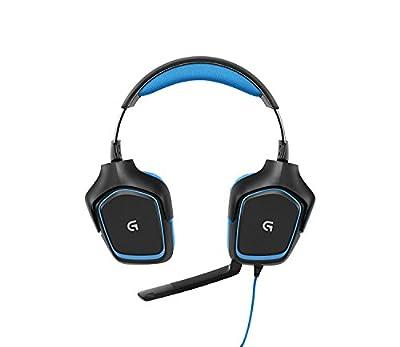 【Amazon.co.jp限定】ゲーミングヘッドセット ロジクール G430d Dolby 7.1 サラウンド Windows対応 Logicool G ステッカー付き