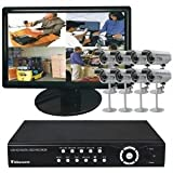 CLOVER ELECTRONICS TBUN0888 19 ALL-IN-ONE BUNDLE SYSTEM WITH 8 CAMERAS