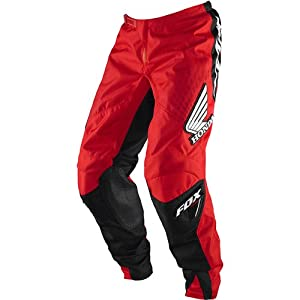 Fox Racing Honda 180 Men's MX/Off-Road/Dirt Bike Motorcycle Pants - Red / Size 32