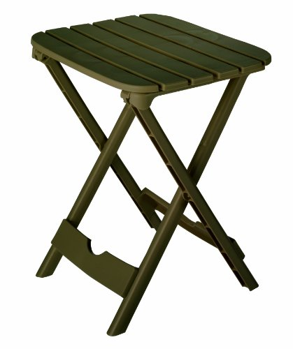 Adams Manufacturing 8520-09-3700 Quik-Fold® Tag-Along Side Table, Brown