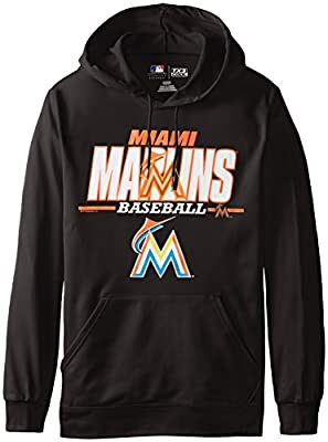 MLB Miami Marlins Men's SA2 Fleece Hoodie