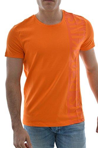 Redskins -  T-shirt - Collo a U  - Maniche corte  - Uomo arancione X-Large