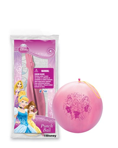 Pioneer National Latex Disney Princess Punch Balls, Assorted, 6-Piece