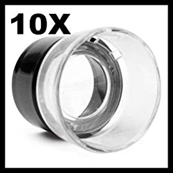 Portable Cylinder Magnifier (10x) 10x Pocket Size Eyepiece Magnifier for Clocks Watches Repair for inspection of Jewellery