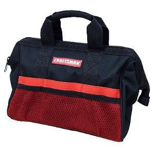 "Craftsman 13"" Reinforced Tool Bag"