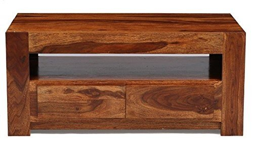 Altavista Obelisk Coffee Table (Teak Finish)