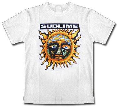Sublime * Sun * White * Shirt * XXL * Maglietta Originale * LIQUIDAZIONE * ARTICOLO UNICO *