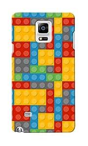 KnapCase Lego Designer 3D Printed Case Cover For Samsung Galaxy Note 4