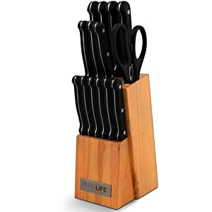 .com: Juegos De Cuchillos De Cocina - Juego De Cuchillos De Cocinas