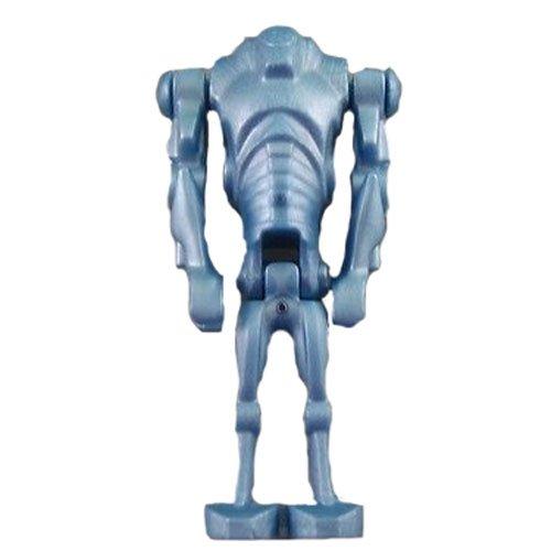 LEGO Minifigure - Star Wars - SUPER BATTLE DROID (Metal Blue) (Lego Super Battle Droid compare prices)