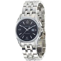 Hamilton Women's Jazzmaster Black Dial Watch (H32325135)