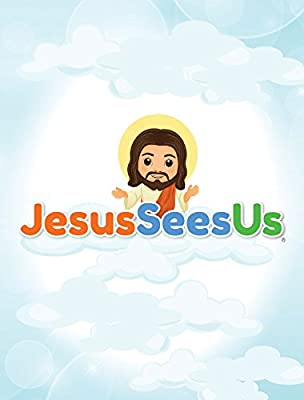 Jesus Sees Us Christian Doll and Lesson Book