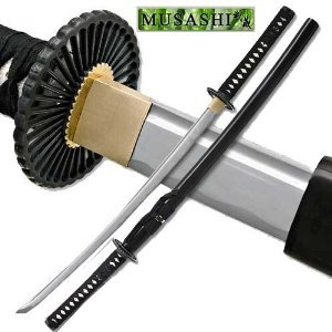 Ace Martial Arts Supply Unsharpened Carbon Steel Laito Practice Katana Sword