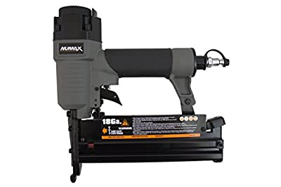 NuMax SL31 18 & 16 Gauge Pneumatic 3-in-1 Nailer & Stapler, Gray & Black