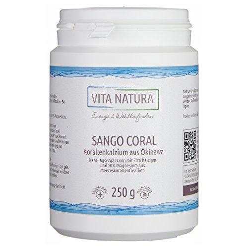 Vita-Natura-Sango-Coralle-Korallen-Kalzium-Pulver-250g