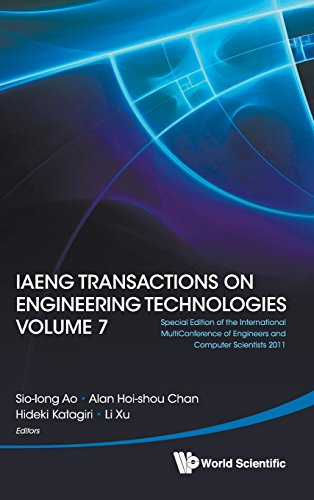Iaeng Transactions on Engineering Technologies Volume 7 - Special Edition of the International Multiconference of Engineers and Computer Scientists 2011
