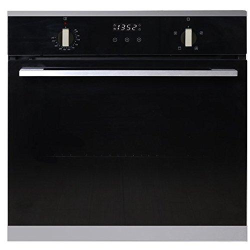 SIA R14 60cm Built In Multi Function 76L Single Fan Electric Oven In Black