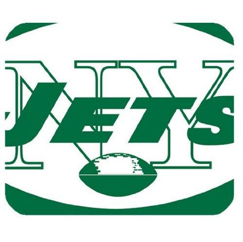 Computer mouse pad with New York Jets team logo by padcaseskingdom at Amazon.com