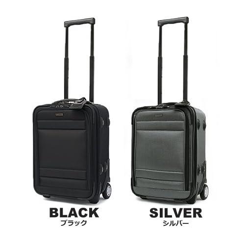(バーマス)BERMAS スーツケース ファンクションギア 60122 (30L) 45cm ブラック
