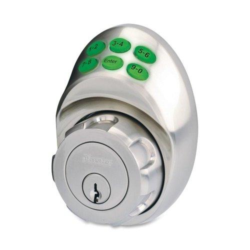 Wholesale Case Of 3 - Master Lock Electronic Keypad Deadbolt-Electronic Deadbolt W/Keypad, Nickel