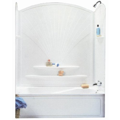 Compare Price To Wall Painting Kit: Advanta 101592-129 63'' Decora Tub Wall Kit
