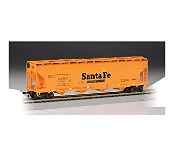 Bachmann Trains Sante Fe (Orange) 56' Acf Center-Flow Hopper-Ho Scale