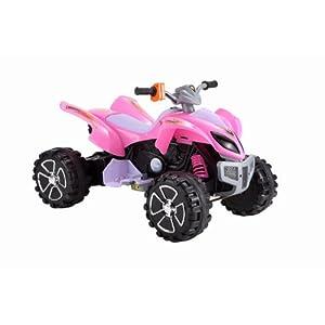 Raptor 12v Quad Bike Pink Kids Electric Ride On New 2011 Model