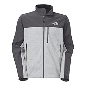 The North Face Apex Bionic Jacket Men's High Rise Grey Heather/Vanadis Grey M from The North Face