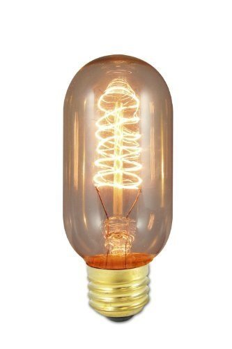 Bulbrite NOS40T14 40-Watt Nostalgic Edison T14 Tubular, Vintage Spiral Filament (Edison Bulb Chandelier E26 compare prices)