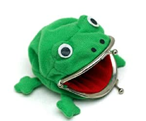 Amazon.com: The Popularity Spike Whirlpool Naruto Frog Purse / Naruto