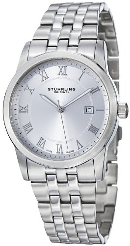 Stuhrling Original Men's 961G.33112 Classic Ascot Paramount Swiss Quartz Date Watch