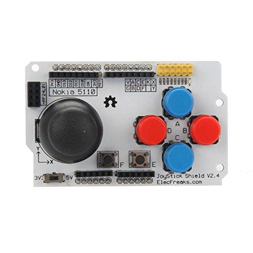 Elecfreaks Joystick Shield V2.4 Shd_Jk2 For Arduino
