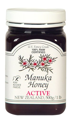 Manuka Honey Bio Active 5+, 500g/1 lb Jars, Pack of 2