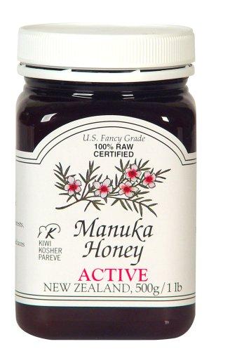 Manuka Honey Bio Active 5+, 500g/1 lb Jars (Pack of 2)