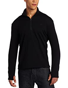 Icebreaker Men's Original Zip (Black, Small)