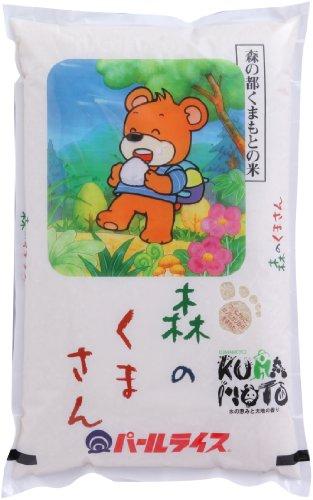 【精米】 熊本県産 白米 森のくまさん 5kg 平成27年産