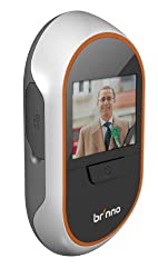 Brinno PeepHole Viewer PHV1330 with Motion Sensor Set (White/Black)