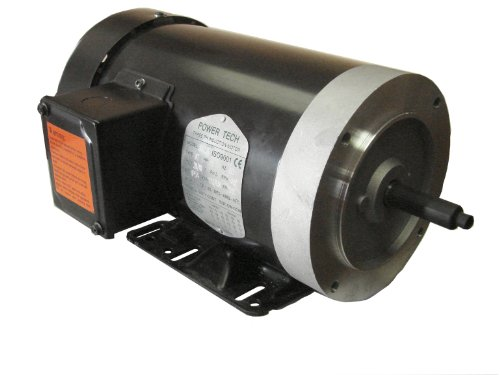 Power Tech Electric (3205C) General Purpose, Totally Enclosed Fan Cooled 5HP, 3PH, 3600RPM, Electric Motor.