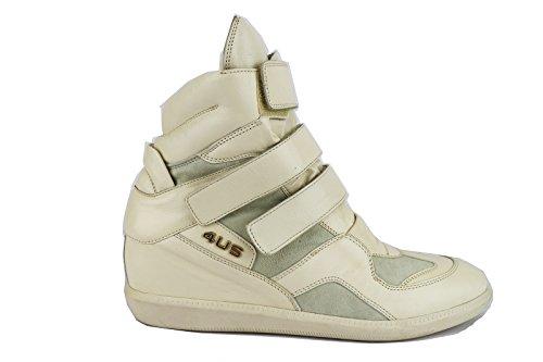 CESARE PACIOTTI 4 US sneakers 40 EU beige pelle camoscio AH651