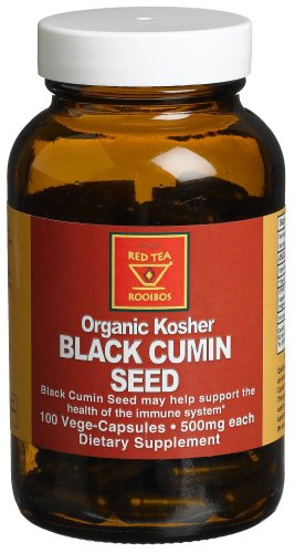 African Red Tea Organic Kosher Black Cumin Seed
