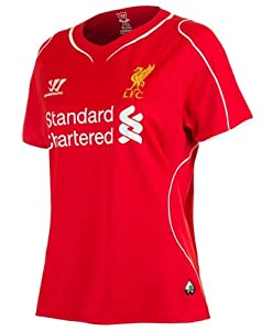 Warrior Liverpool Ladies Home Jersey Red 2014 by Warrior