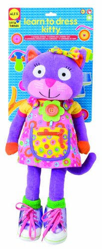 ALEX Toys Little Hands Giant Learn to Dress Kitty ...