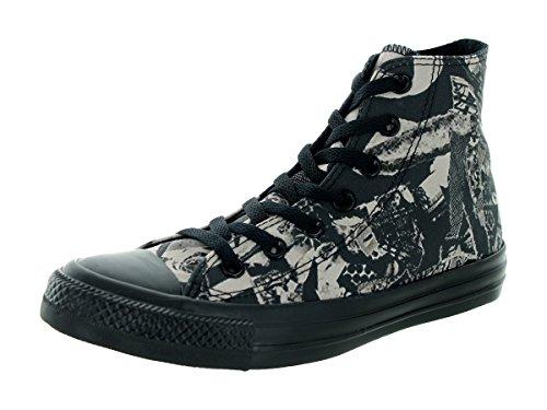 Converse Women's Chuck Taylor All Star Pop Art Print Hi Parchment/Bl Basketball Shoe 7.5 Women US