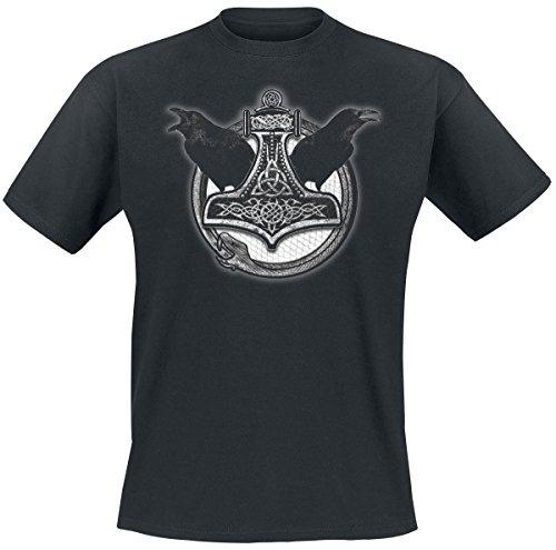 Thor's Hammer T-Shirt nero S