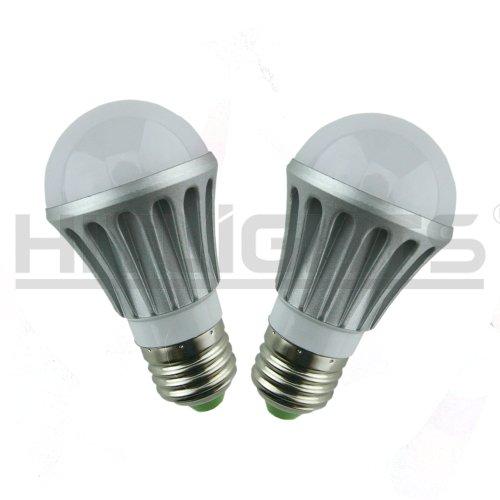 HitLights A15 Warm White (2700K) Application 4W LED Light Bulb, Household E26 Base, 2 Pcs Pack