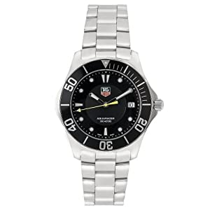 TAG Heuer Men's WAB1110.BA0800 2000 Aquaracer Quartz Watch